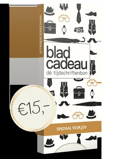 Bladcadeau t.w.v. €15,00