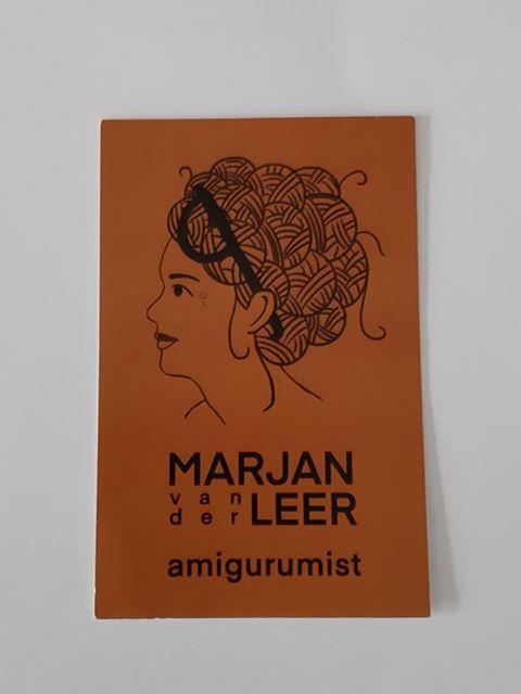 Uniek vosje van Marjan van der Leer